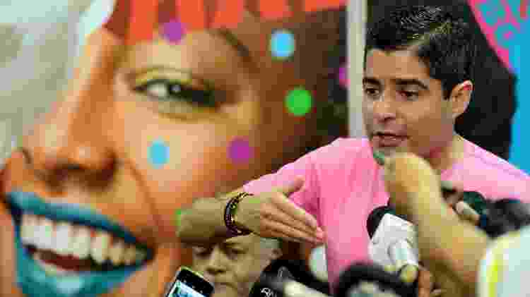 O prefeito de Salvador ACM Neto (DEM) durante coletiva de imprensa sobre o Carnaval na cidade - Valter Pontes/Secom/PMS