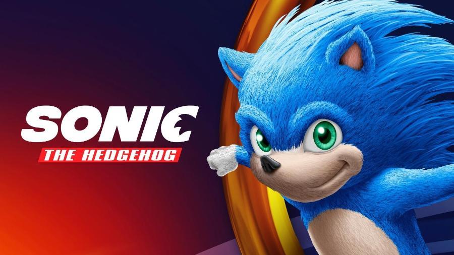 Possível visual do Sonic, da adaptação live-action. - Reprodução