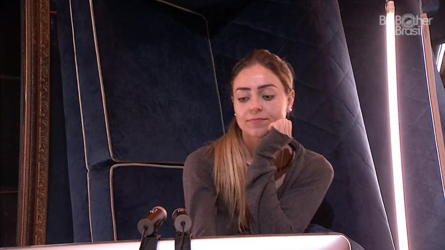 Paula no raio-x de hoje - Reprodução/GloboPlay