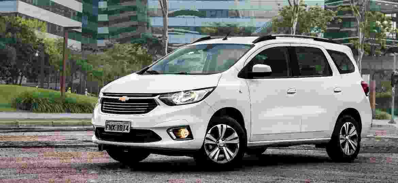 Chevrolet Spin Premier 2020 traz mesmo visual e equipamentos da versão LTZ 2019 - Divulgação