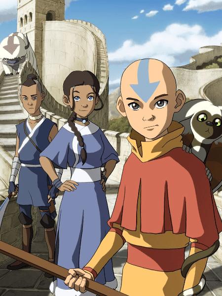 """Cena de """"Avatar: A Lenda de Aang"""" - Reprodução"""