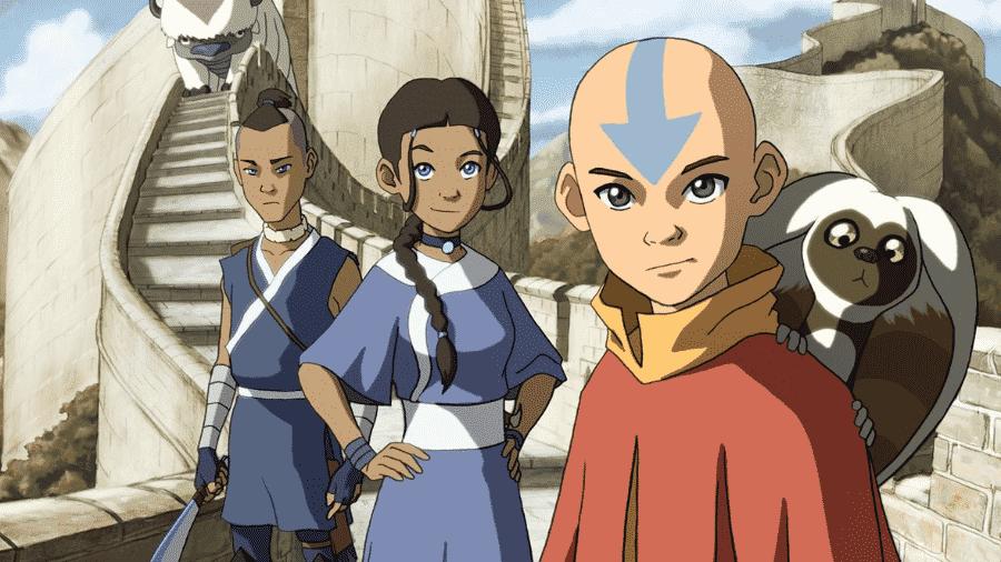 """Cena de """"Avatar: A Lenda de Aang"""", que terá versão live-action na Netflix - Reprodução"""