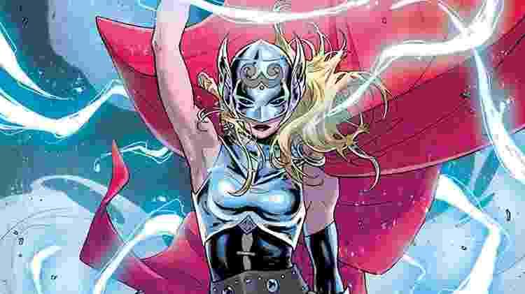 Jane Foster como Thor nos quadrinhos da Marvel - Reprodução - Reprodução