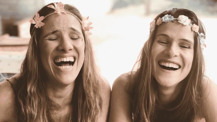 """Ingrids Guimarães (direita) e a sua """"irmã quase gêmea"""" Sigrid Dias (esquerda) - Reprodução/Instagram"""