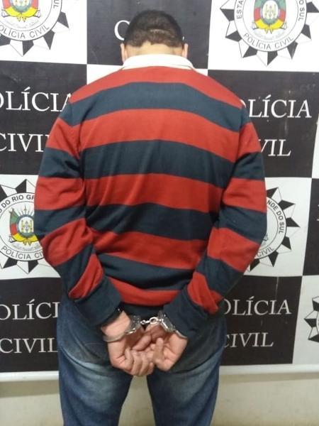 Jovem de 18 anos é preso acusado de estuprar a menina de 5 anos - Divulgação/Polícia Civil