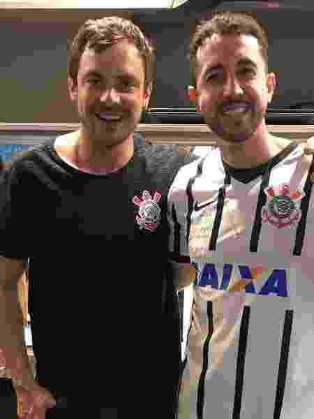 Sérgio Guizé e Thiago Rocha foram chamados para participar do filme do Corinthians - Reprodução Instagram