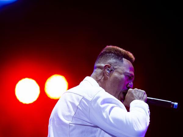 Mano Brown se apresentando no Rock In Rio