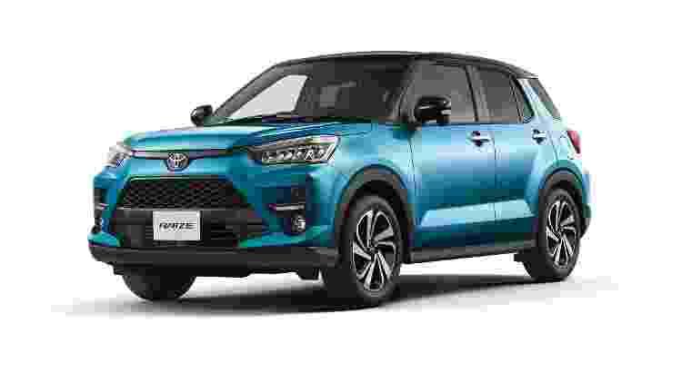SUV vendido no Brasil será maior do que o Raize japonês - Divulgação