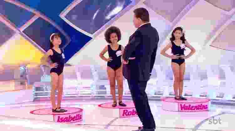 Miss Infantil, concurso de beleza do Programa Silvio Santos - Divulgação - Divulgação