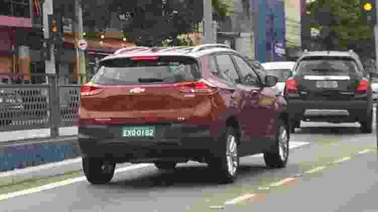 Sem vergonha de ser feliz: novo Tracker roda em São Caetano do Sul - Vitor Matsubara/UOL