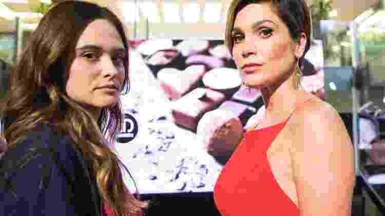 Luna/Fiona ficou emocionada ao ver sua mãe Helena  - Globo/João Miguel Júnior