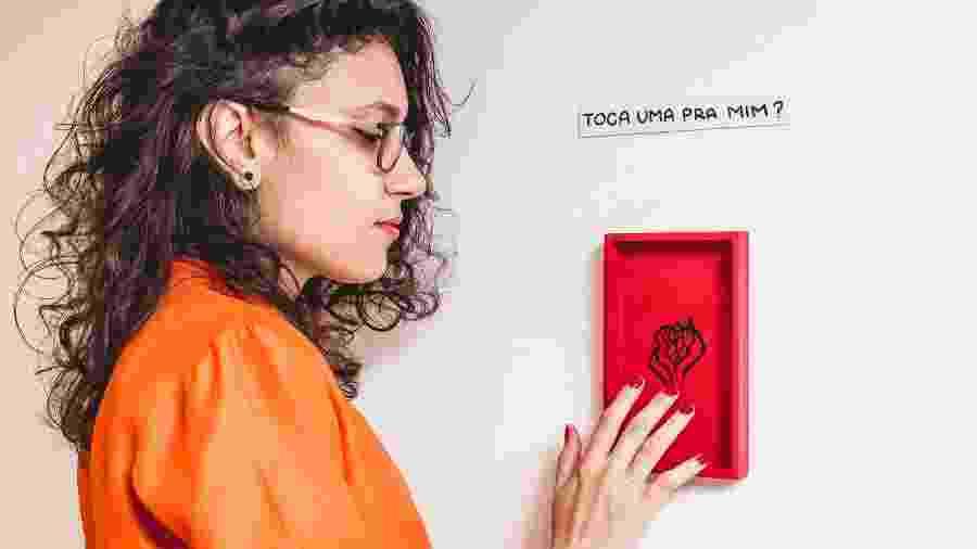 A artista Jota Carneiro, que fez do trabalho um caminho para descobertas pessoais - Divulgação