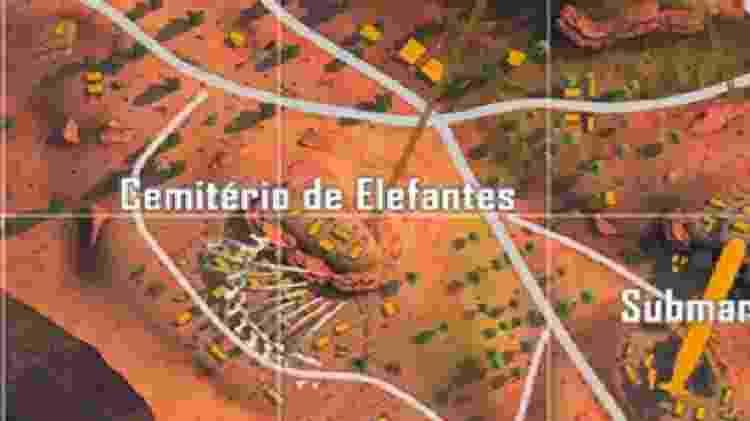 Free Fire Cemitério de Elefantes - Reprodução - Reprodução