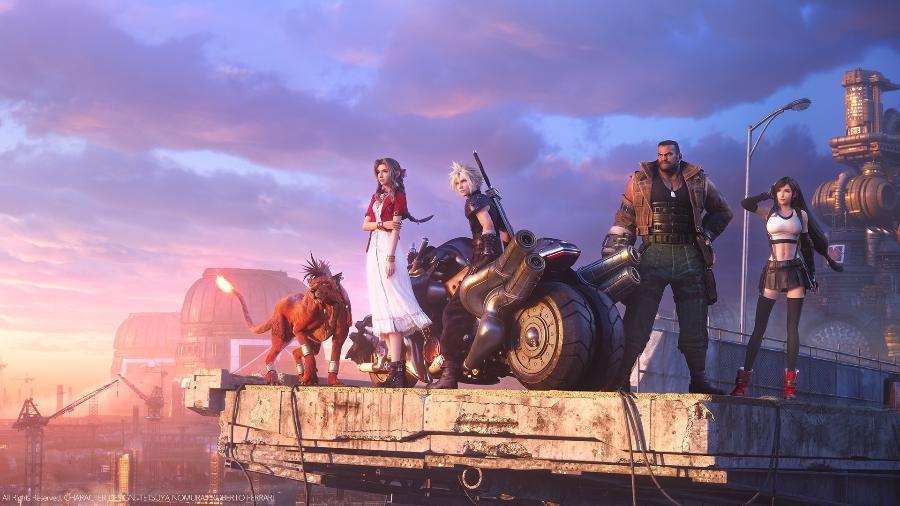A Square Enix antecipou a remessa de Final Fantasy VII Remake para Europa e Austrália: alguns jogadores já receberam o game antes do lançamento oficial - Divulgação/Square Enix