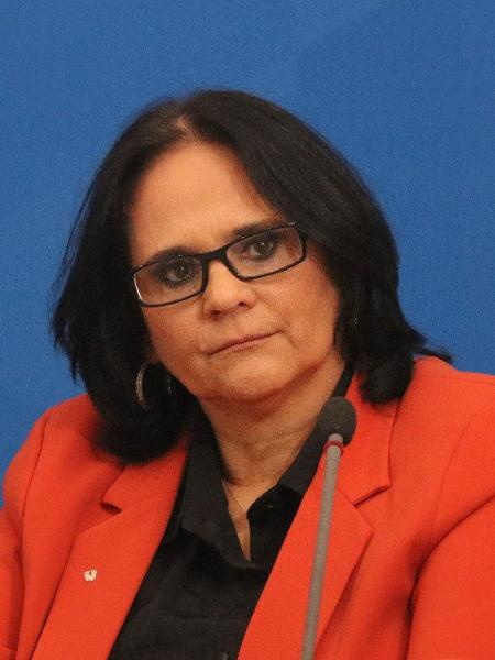 A ministra da Mulher, da Família e dos Direitos Humanos, Damares Alves - FREDERICO BRASIL/FUTURA PRESS/FUTURA PRESS/ESTADÃO CONTEÚDO