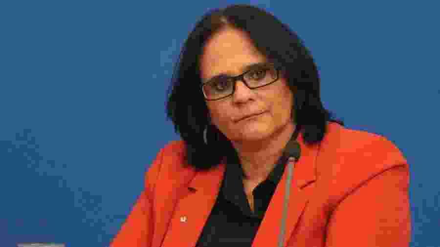 A ministra Damares Alves - FREDERICO BRASIL/FUTURA PRESS/FUTURA PRESS/ESTADÃO CONTEÚDO