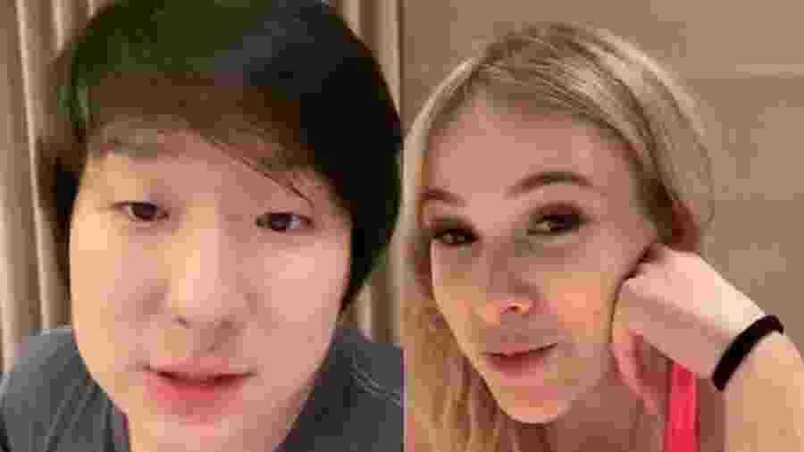 Pyong Lee e Sammy - Reprodução/Instagram