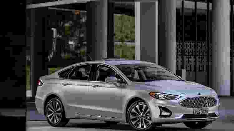 Ford Fusion: a trajetória no Brasil - Divulgação - Divulgação