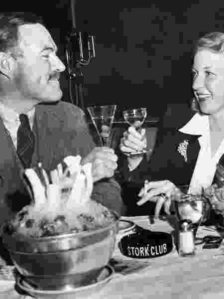 Ernest Hemingway e a esposa Martha Gelhorn - Bettmann - Bettmann