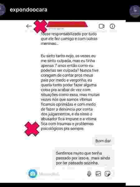 Denuncia Ocara Instagram - Reprodução - Reprodução