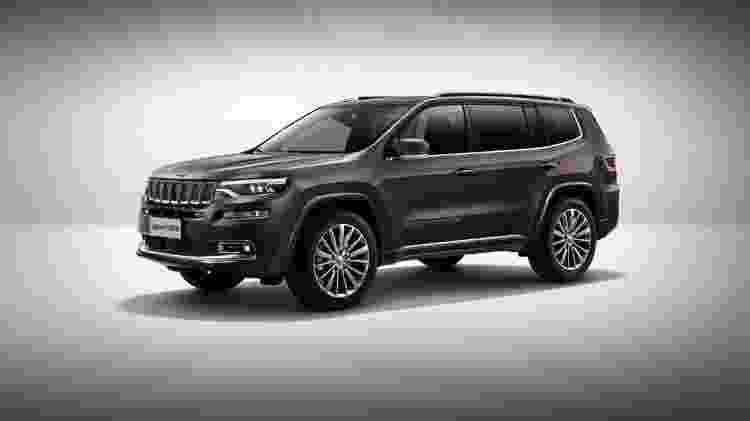Grand Commander que é base do novo SUV de sete lugares da Jeep - Jeep - Jeep