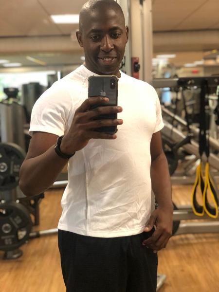 Washington Soares Santos se apaixonou pela musculação e nunca mais parou - Arquivo pessoal