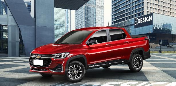 Carros   Nova picape da Chevrolet: o que já sabemos da rival da Fiat Toro