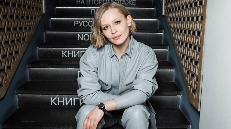"""A atriz Yuliya Peresild vai estrelar """"O Desafio"""", filme russo gravado no espaço - Reprodução/Instagram"""