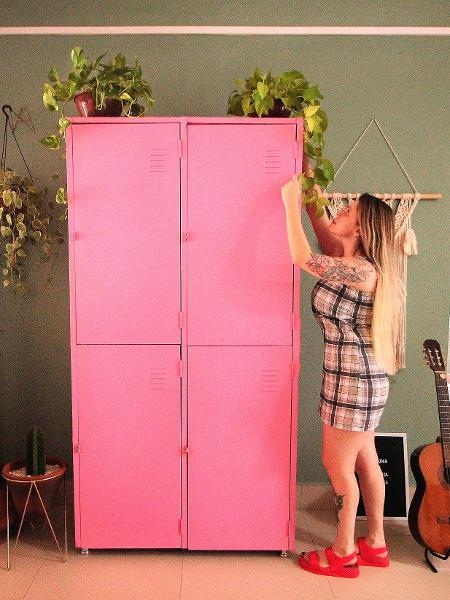 Armário locker é novo queridinho da decoração - Arquivo pessoal