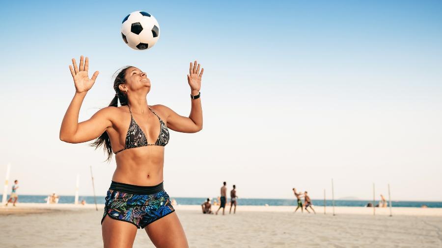 Futevôlei é prática popular nas praias e, agora, também em cidades não litorâneas; conheça os benefícios - Getty Images