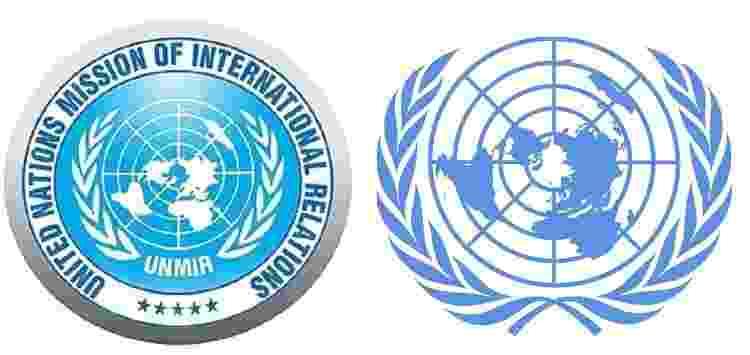 Logos UNMIR e ONU - Reprodução - Reprodução