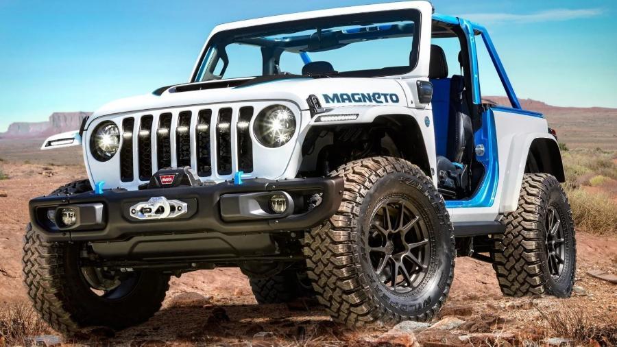 Jeep Wrangler Magneto conceito - Divulgação