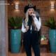 A Fazenda 2021: Adriane Galisteu en la noche de la eliminación del primer peón y la dimisión de Medrado - Reproducción / Record TV