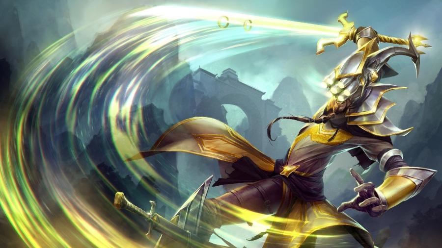 League of Legends, Master Yi - Divulgação/Riot Games