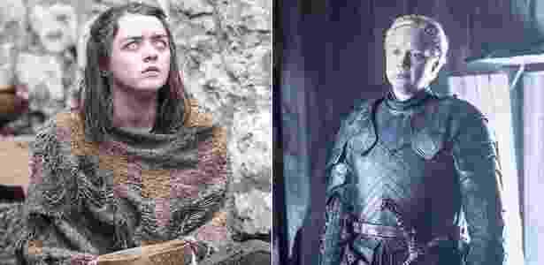 Arya Brienne game of thrones - Divulgação - Divulgação