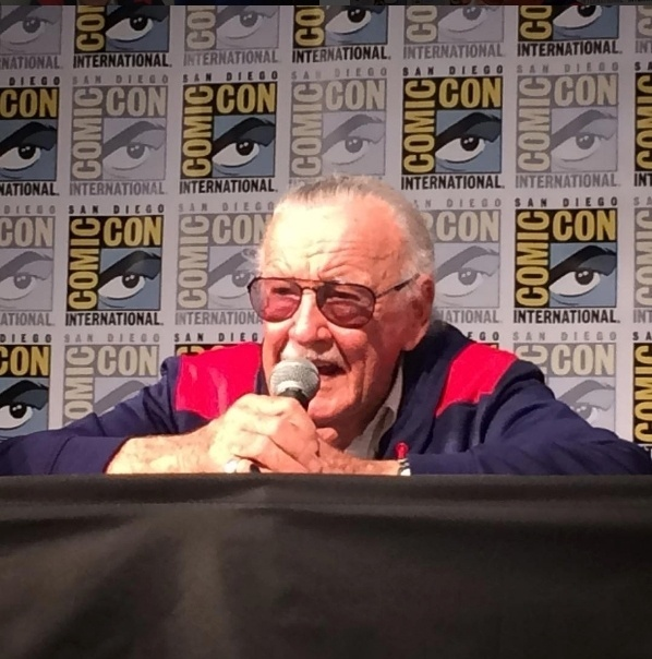 23.jul.2016 - Stan Lee em painel sobre sua vida durante a San Diego Comic-Con