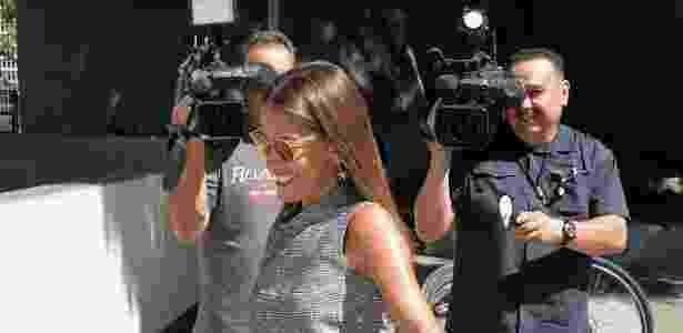 Laura Wasser deixa tribunal de Los Angeles após audiência do divórcio de Johnny Depp e Amber Heard - Dave Mangels/Getty Images