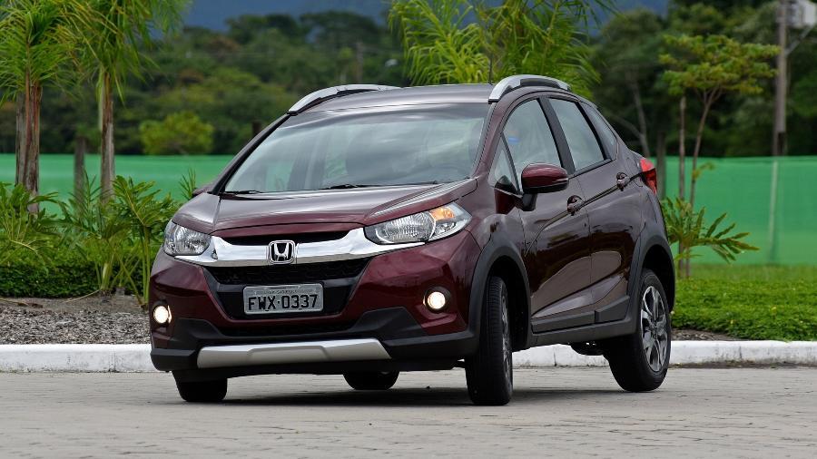 Frente robusta deve fazer sucesso, mas essa grade pesada do Honda WR-V... - Murilo Góes/UOL