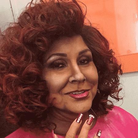 """Fafá de Belém se caraterizou como Alcione para quadro do """"Domingão"""" - Reprodução/Instagram"""