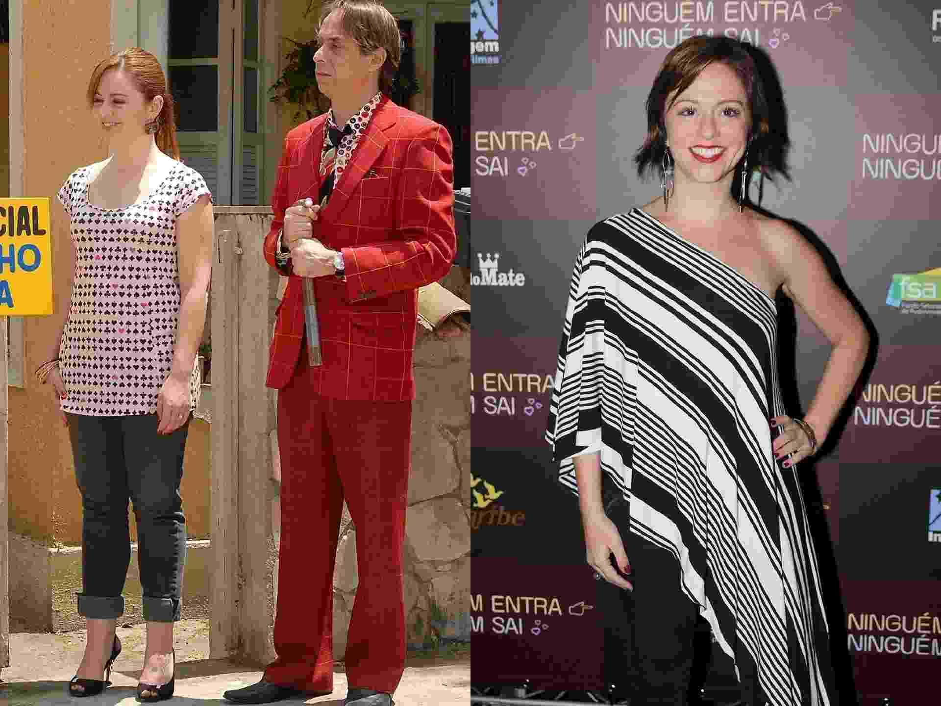 Antes e depois Guta Stresser - Imprensa/Globo/AgNews