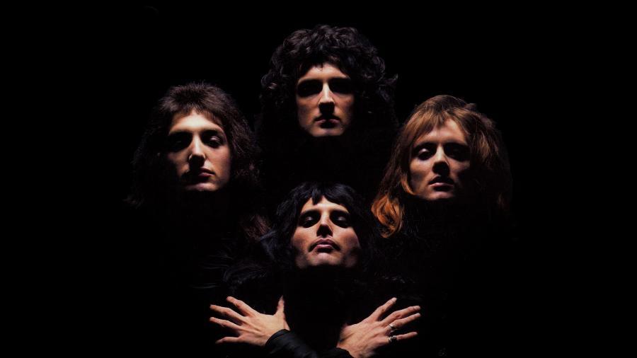 A banda inglesa Queen - Divulgação