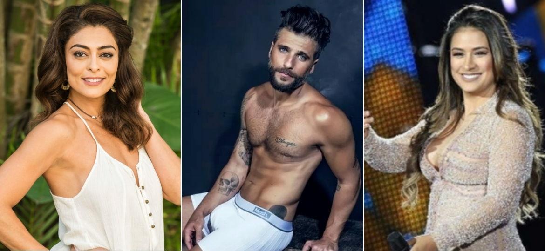 Juliana Paes, Bruno Gagliasso e Simone são alguns famosos que assumiram terem traído - Globo/Instagram/Divulgação