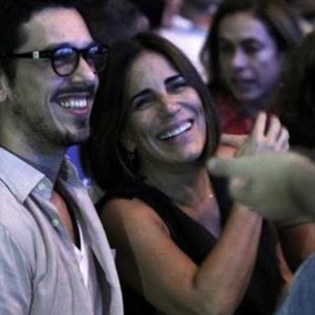 João Vicente de Castro ao lado de Glória Pires - Reprodução/Instagram