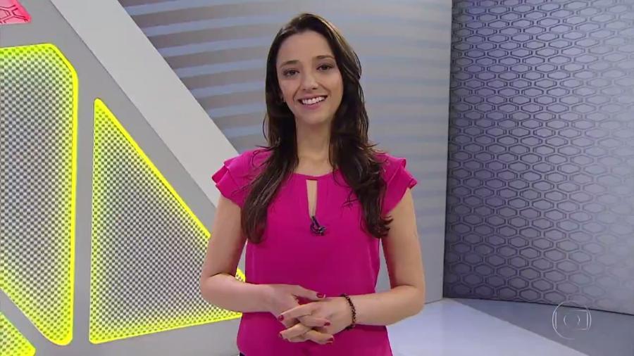 """Maíra Lemos apresentou seu último """"Globo Esporte"""" em 19 de setembro - Reprodução/TV Globo"""