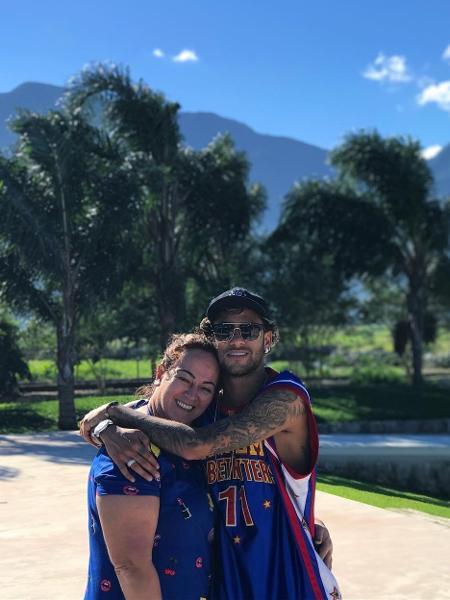 Neymar e a mãe, Nadine - Reprodução/Instagram