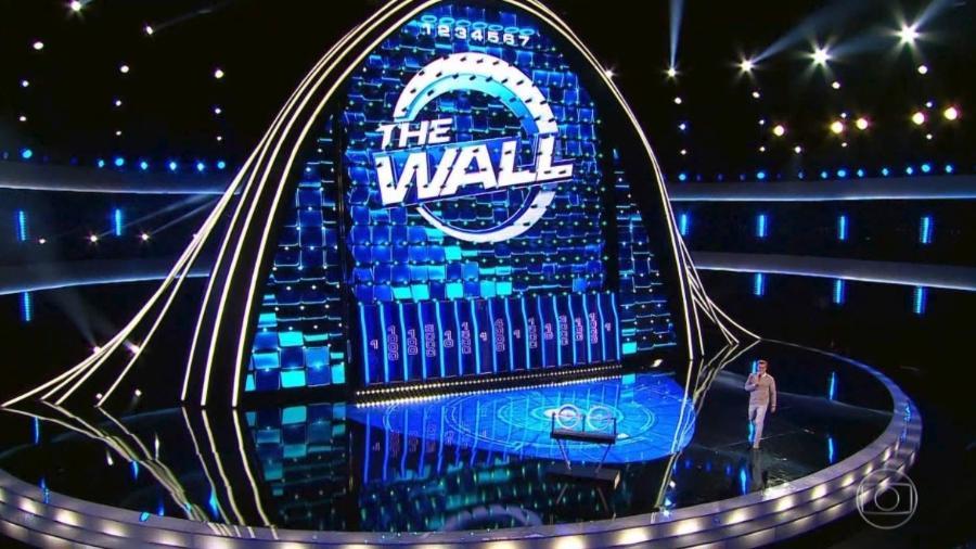 """Luciano Huck estreia novo quadro em seu programa, o """"The Wall"""" - Reprodução"""