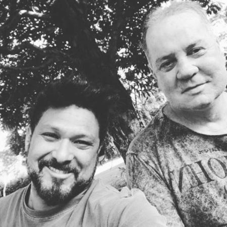 Adriano Medeiros e Luiz Fernando Guimarães - Reprodução/Instagram