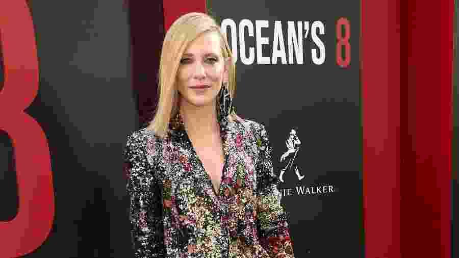 A atriz australiana Cate Blanchett - Getty Images