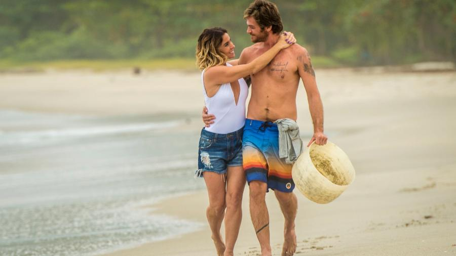"Luzia ( Giovanna Antonelli ) e Beto (Emilio Dantas), casal protagonista de ""Segundo Sol""  - João Cotta/Globo"