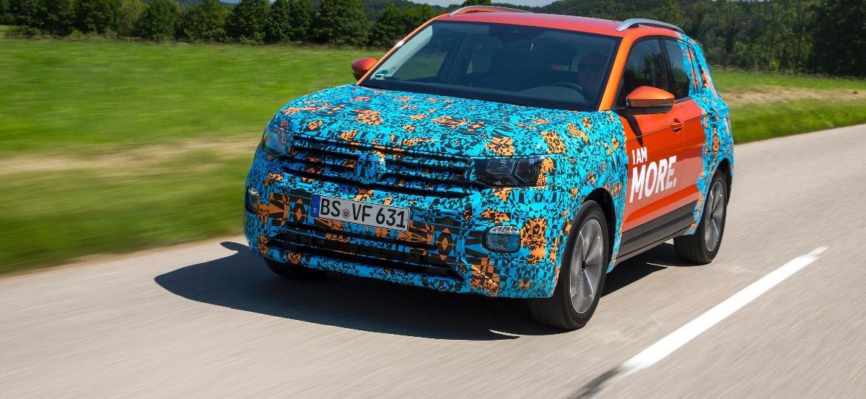 Volkswagen T-Cross: opção urbana e com muito conforto para pessoas, não para bagagens - Divulgação
